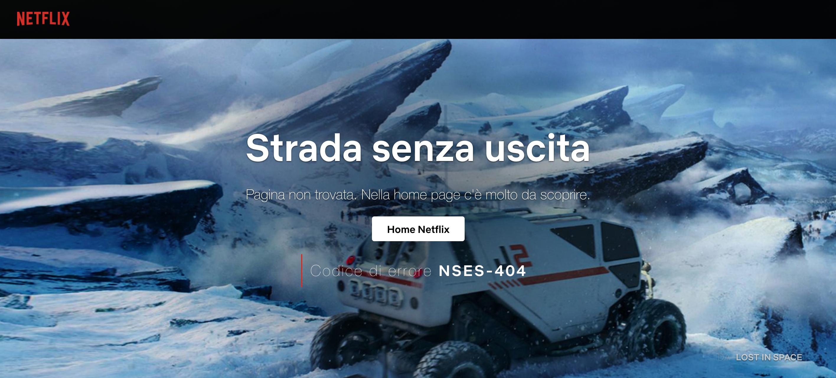 Error 404 Netflix