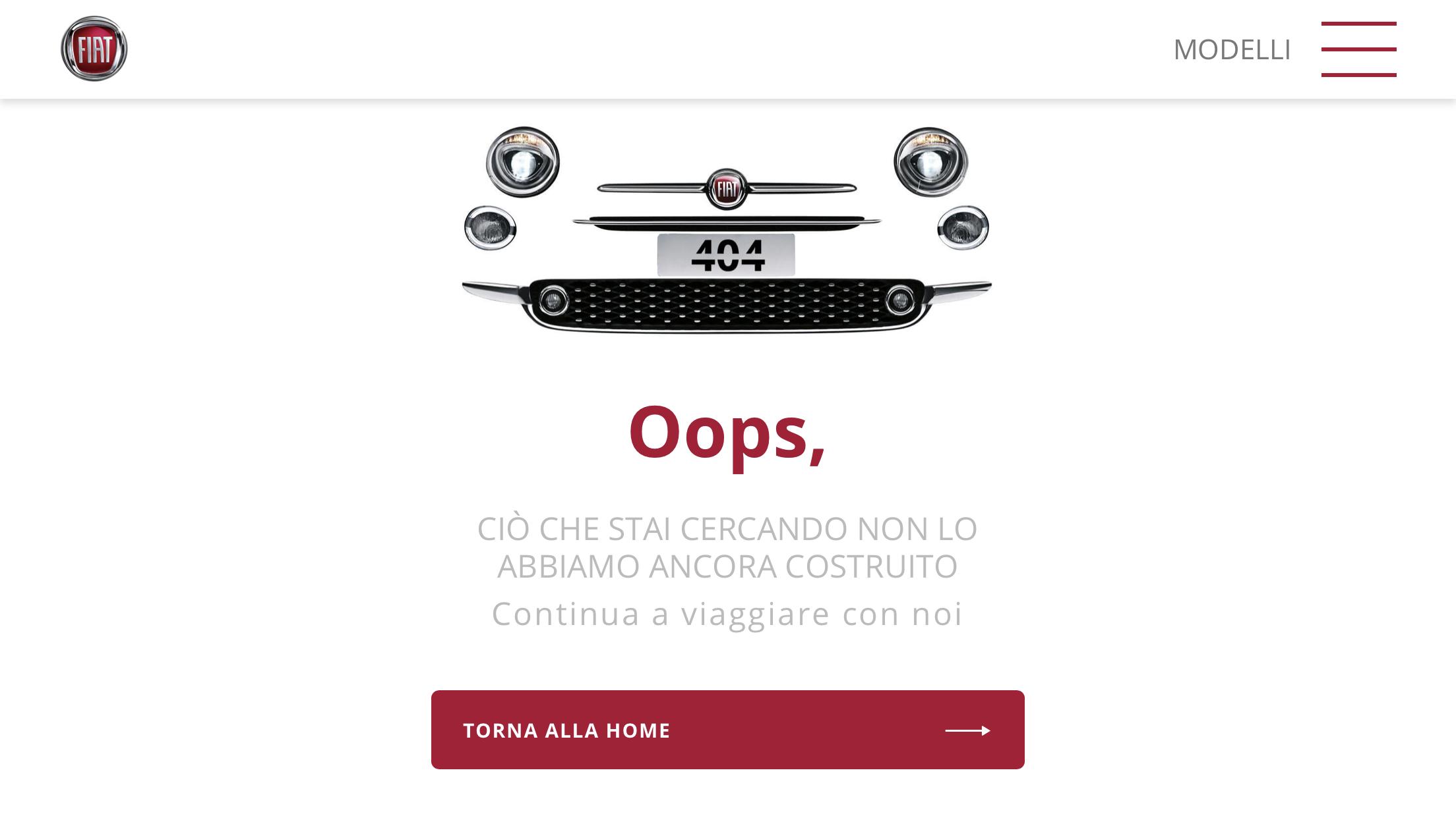 Fiat error 404